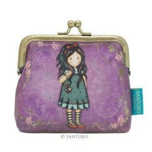 "Santoro London Gorjuss 4"" Clasp Purse - Pulling on Your Heart Strings"