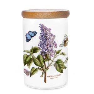 Portmeirion Portmeirion Botanic Garden 7 Inch Airtight Canister - Garden Lilac