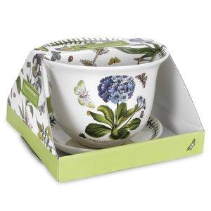 Portmeirion Portmeirion Botanic Garden Flower Pot & Stand - Fuchsia