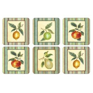 Pimpernel Pimpernel Hooker Fruits Coasters
