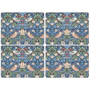 Pimpernel Pimpernel Strawberry Thief (Blue) Placemats