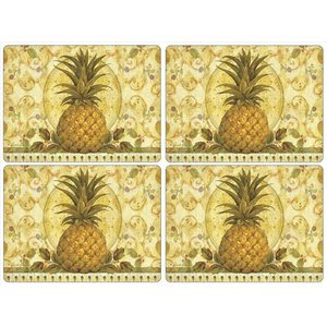 Pimpernel Pimpernel Golden Pineapple Placemats