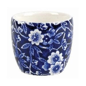 Burleigh Pottery Calico Blue Egg Tot