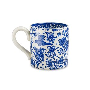 Burleigh Pottery Regal Peacock Blue 1/2 Pint Mug