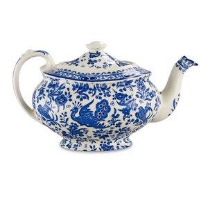 Burleigh Pottery Regal Peacock Blue 5 Cup Teapot