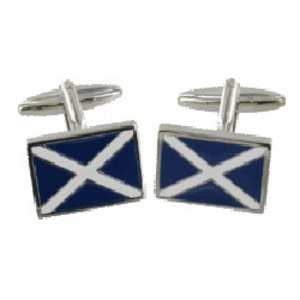 Scotland Flag Scotland Flag Cufflinks