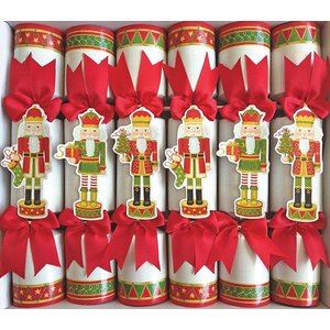 Caspari Caspari Christmas Crackers - Nutcracker Parade - 6 Count