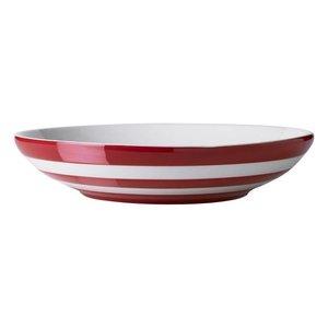 Cornishware Cornishware Pasta Bowl 9.25 in. - Red