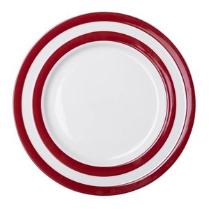 Cornishware Cornishware Main Plate 11 in. - Red