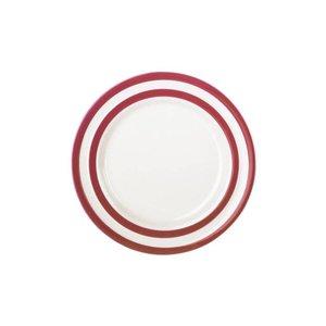 Cornishware Cornishware Side Plate 6.75 in. - Red