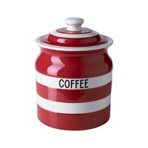 Cornishware Coffee Storage Jar 30oz - Red