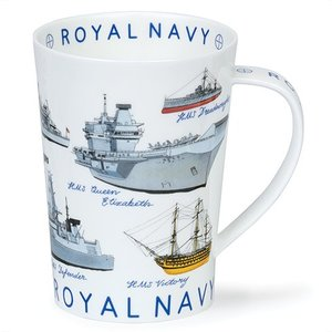 Dunoon Dunoon Argyll Armed Forces Mug - Navy