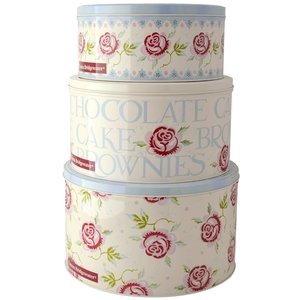 Emma Bridgewater Emma Bridgewater Rose & Bee Set of 3 Tins