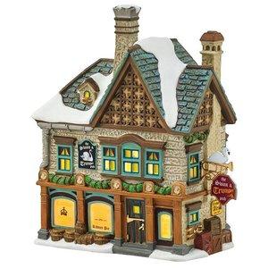 Dicken's Village Dickens Village Series - The Swan and Trumpet Pub
