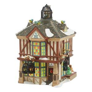 Dicken's Village Dickens Village Series - Four Calling Birds Shoppe