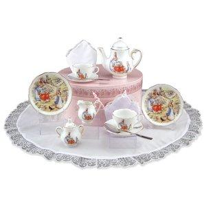 Peter Rabbit Medium Tea Set in Hat Box