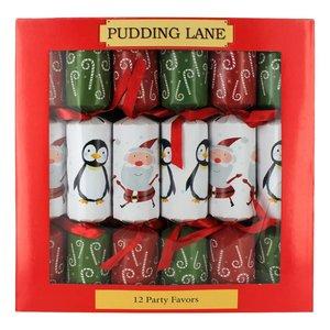 Pudding Lane Pudding Lane Santas & Penguins - 12 Count