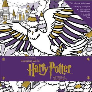 Harry Potter Winter at Hogwarts Coloring Set
