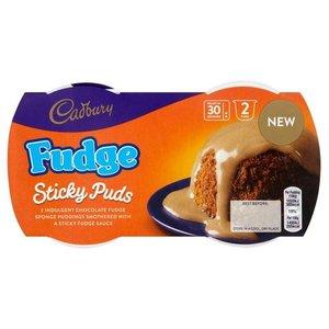 Cadbury Fudge Puddings Twin Pack