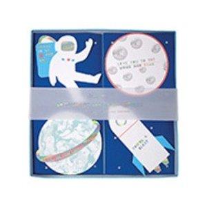 Meri Meri Meri Meri Valentine's Day Cards - Space