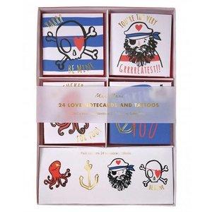 Meri Meri Meri Meri Valentine's Day Cards - Pirate