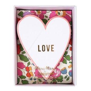 Meri Meri Meri Meri Valentine's Cards - Liberty Print