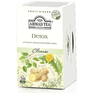 Ahmad Tea Ahmad Detox Herbal Tea 20s