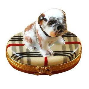 Rochard Limoges Limoges Bulldog Box