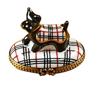 Rochard Limoges Limoges Scottish Terrier Box