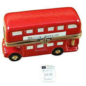 Rochard Limoges Limoges Double Decker Bus Box