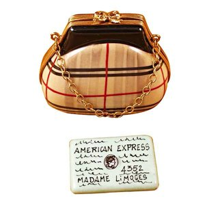 Rochard Limoges Limoges Burberry Purse Box With Credit Card