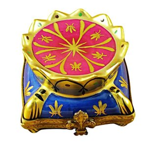 Rochard Limoges Limoges Crown on Pillow Box