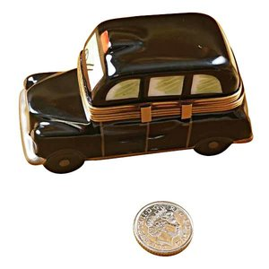 Rochard Limoges Limoges Black Taxi Box