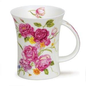 Dunoon Dunoon Richmond Vintage Flowers Pink Mug