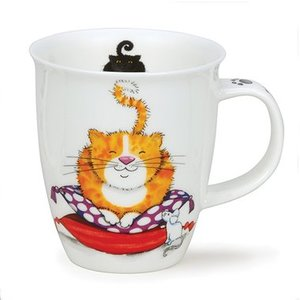 Dunoon Dunoon Nevis Comfy Cats Ginger Mug