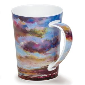 Dunoon Dunoon Argyll Drift On By Light Blue Mug