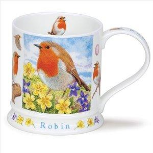 Dunoon Dunoon Iona Wildlife Mug - Robin
