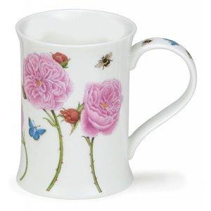 Dunoon Dunoon Cotswold Floral Studies Mug - Rose