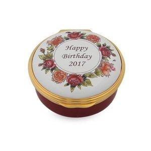 Halcyon Days Halcyon Days 2017 Happy Birthday Box
