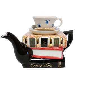 Carters of Suffolk Tony Carter Books and Tea Teapot - Dickens