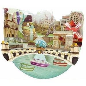 Santoro London Santoro Pop-up Card - Paris