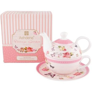 Ashdene Ashdene Vintage Garden Tea for One Set