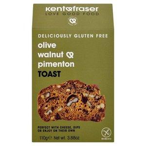 Kent & Fraser Olive, Walnut & Pimenton Toast
