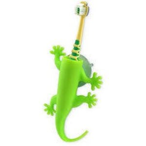 J-Me J-Me Larry the Lizard Toothbrush Holder-Green
