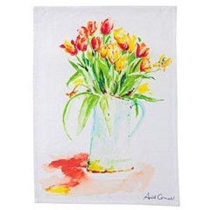 April Cornell April Cornel Tulips Tea Towel
