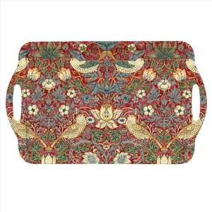 Pimpernel Pimpernel Large Two-Handled Tray - Red Strawberry Thief