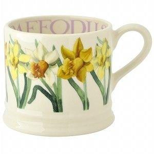 Emma Bridgewater Bridgewater 1/2 Pint Flowers Mug - Daffodils