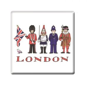 Alison Gardiner London Figures Coaster
