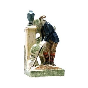 Rye Pottery Rye Golfers - Captain Argyll