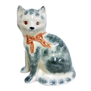 Rye Pottery Rye Cat - Gray